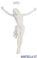Cristo Siena in fibra di vetro non dipinto