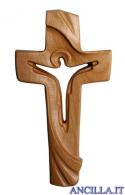Croce della Pace Ambiente Design legno di ciliegio