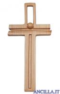 """Croce """"La Linea"""" Ambiente Design legno di ciliegio"""