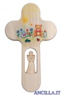 Crocetta colorata orsetto e giocattoli
