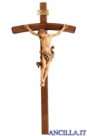 Crocifisso Leonardo - croce curva