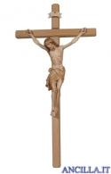 Crocifisso Siena brunito 3 colori - croce diritta