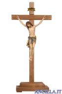 Crocifisso Siena - croce diritta con base d'appoggio