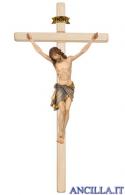 Crocifisso Siena in fibra di vetro con croce diritta