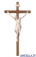 Crocifisso Siena naturale - croce diritta scura