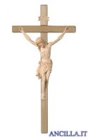 Crocifisso Siena naturale - croce diritta