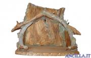 Capanna corteccia per Sacra Famiglia (statuine 20 cm)
