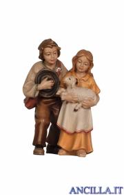 Coppia di bambini Kostner serie 16 cm