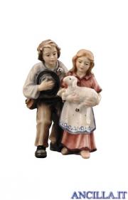 Coppia di bambini Kostner serie 12 cm