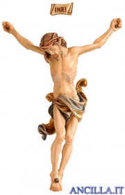 Cristo Leonardo in resina