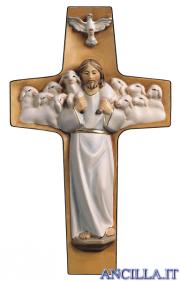 Croce Buon Pastore (bianco)
