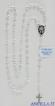 Corona del Rosario argento 925°/°° grani 3 mm