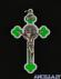 Croce gotica fluorescente