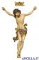 Crocifisso per processione Leonardo croce oro barocca rifinitura oro zecchino