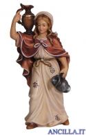 Donna con brocca Mahlknecht serie 9,5 cm