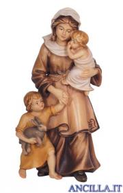 Donna con bambini Mahlknecht serie 9,5 cm