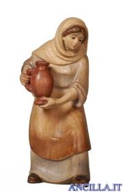 Donna con brocca Pema serie 12 cm