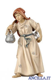Donna con brocca Rainell serie 9 cm