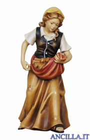Donna con legna Kostner serie 16 cm