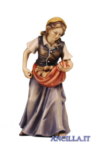 Donna con legna Kostner serie 12 cm