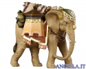 Elefante con bagagli Kostner serie 16 cm