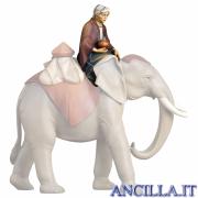 Elefantiere seduto Cometa serie 12 cm