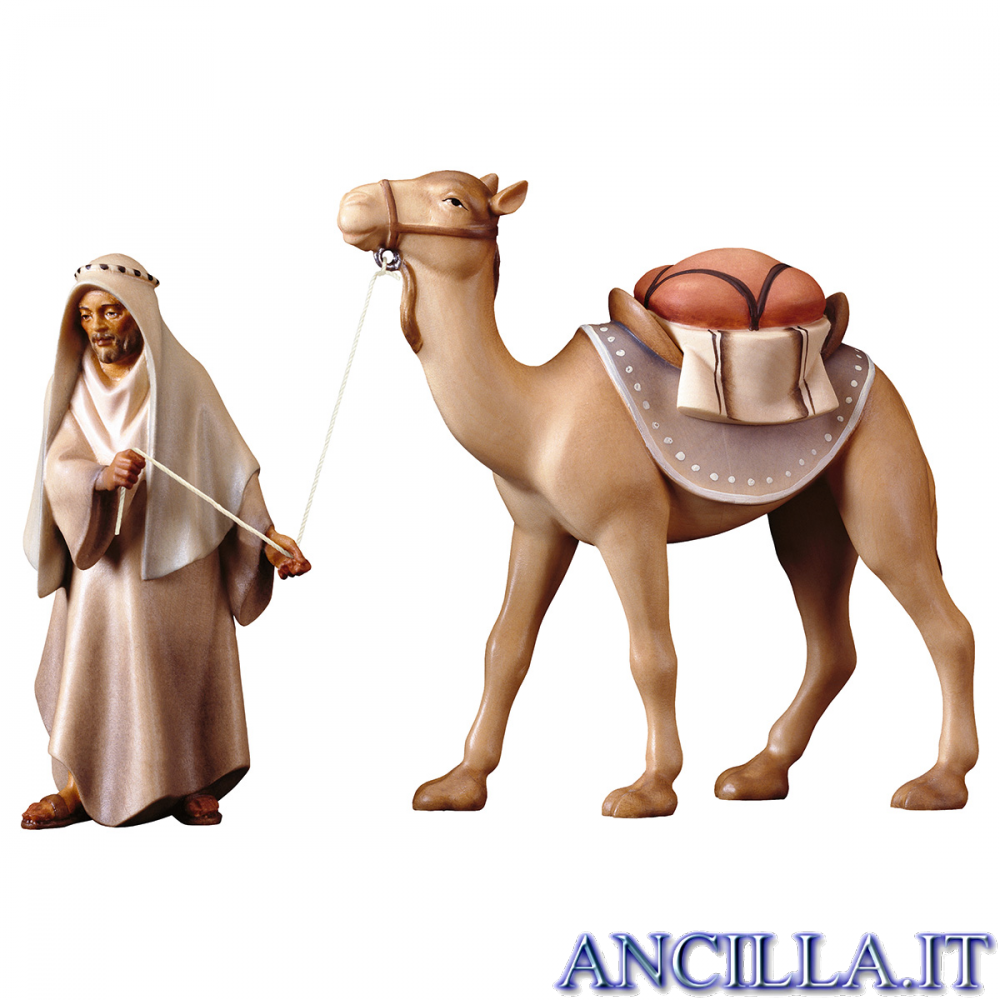 Gruppo del cammello in piedi Redentore serie 10 cm
