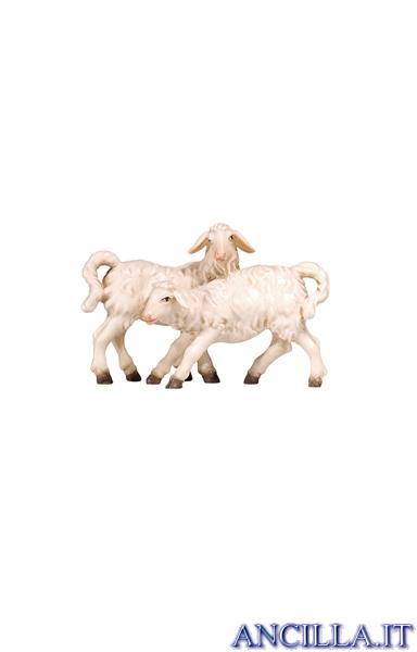 Gruppo di agnelli Kostner serie 25 cm