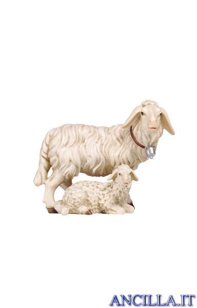 Gruppo di pecore Rainell serie 11 cm