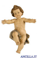 Gesù Bambino Kostner sciolto serie 16 cm