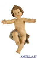 Gesù Bambino Kostner sciolto serie 12 cm