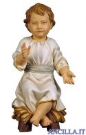 Gesù Bambino seduto su culla Ulrich