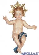 Gesù Bambino Ulrich con raggiera