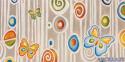 Giochi colorati - decorato su pannello piatto