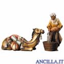 Gruppo del cammello sdraiato Ulrich serie 12 cm