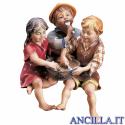 Gruppo di bambini seduti Ulrich serie 12 cm