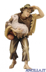 Giovane con pecora Kostner serie 16 cm