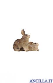 Gruppo di conigli Rainell serie 15 cm