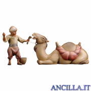 Gruppo del cammello sdraiato Redentore serie 12 cm