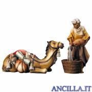 Gruppo del cammello sdraiato Ulrich serie 10 cm