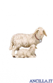 Gruppo di pecore Rainell serie 9 cm