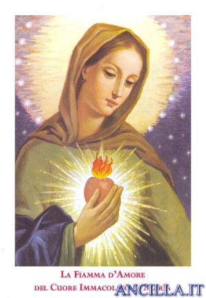 Immagine La Fiamma d'Amore del Cuore Immacolato di Maria