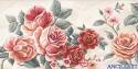 Il fiato delle rose - decorato su pannello piatto