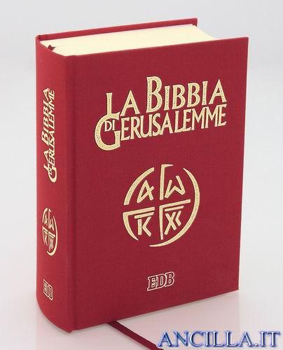 La Bibbia di Gerusalemme copertina rigida con cofanetto