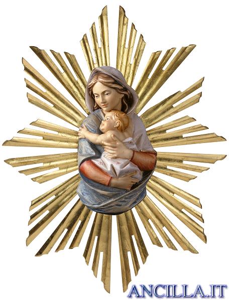 Madonna con Bambino mod. 4 da parete