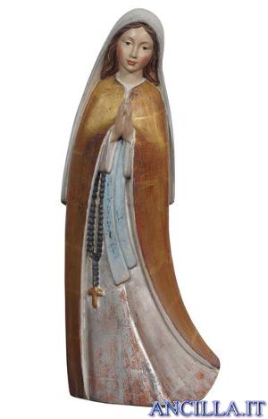 Madonna del Santuario anticata oro e argento