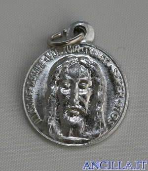 Medaglia del Santo Volto argentata