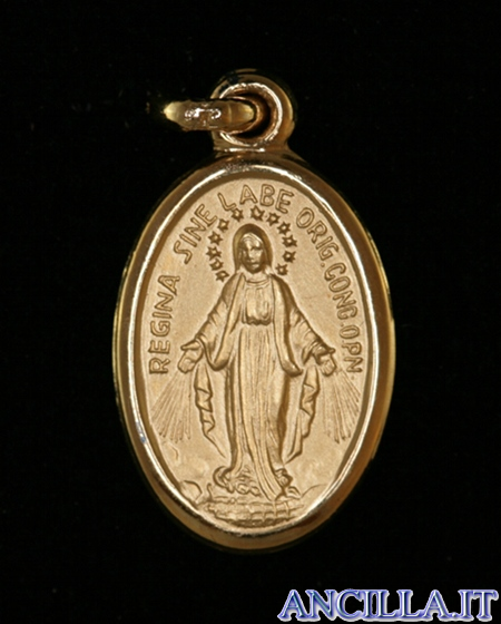 Medaglia miracolosa oro 750