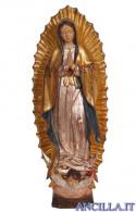 Madonna di Guadalupe modello 1 anticata oro e argento