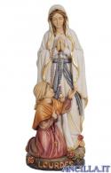 Madonna di Lourdes con Bernadette olio modello 2